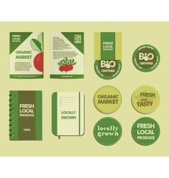 Farm Fresh Identity vector
