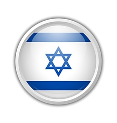 Israel badge vector image
