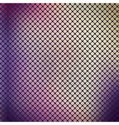 Mosaic Violet Vintage Background vector image
