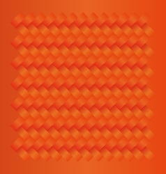 Orange seamless weave pattern vector
