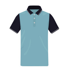 Polo shirt icon on a white background vector