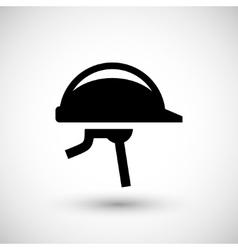 Protective helmet icon vector