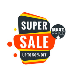 Sale bunner template design element for your vector