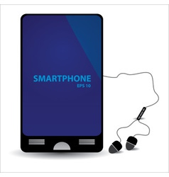 simple abstract smartphone eps10 vector image