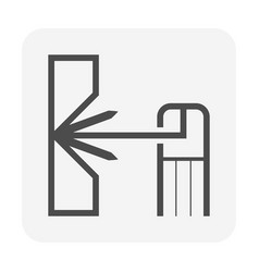 Welding work and tools icon design vector