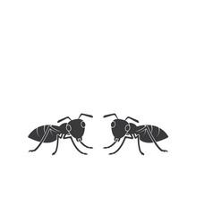 Ant icon design vector