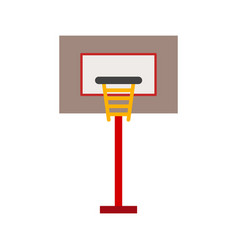 Basketball post vector