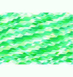 Bright shades of green geometric pattern vector