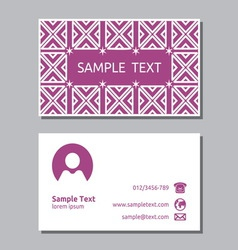 Businessman card3 resize vector image vector image