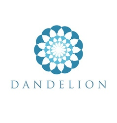 Concept dandelion vector