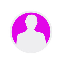 Female user icon eps app avatar icon woman vector