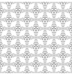 geometrical seamless gray pattern shapes and lines vector image
