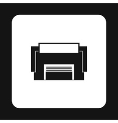 Industrial building icon simple style vector image