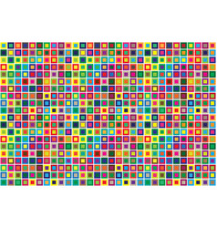 modern pattern seamless squares abstract colored vector image