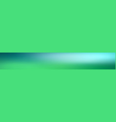 panoramic abstract green blurred gradient vector image
