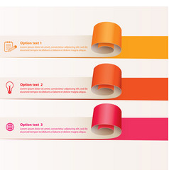 Paper tape for various purposes vector