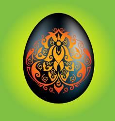 Paradise egg vector