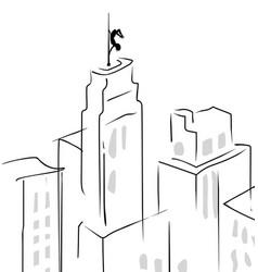 pole dance as sport vector image