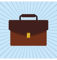suitcase icon design vector image