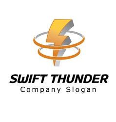 Swift Thunder Design vector image