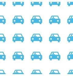 Unique Car seamless pattern vector image
