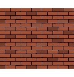 Seamless brick wall background vector image vector image