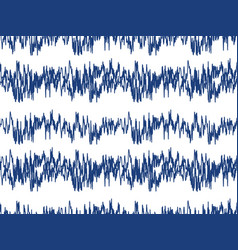 sound waves seamless pattern audio technology vector image vector image