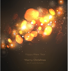 Christmas and new year design vector
