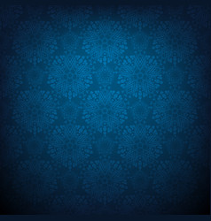 dark blue lace vector image