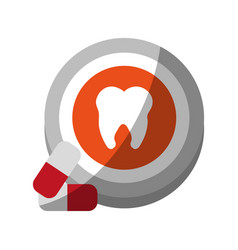 Dental care related icon image vector