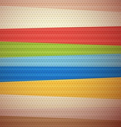 Retro Material Design Background vector image