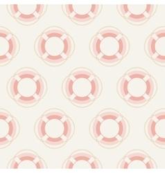 pattern lifebuoys vector image