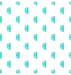 CD box pattern cartoon style vector image vector image
