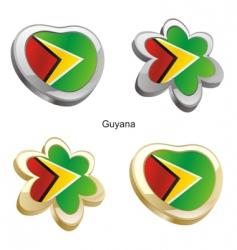 flag of Guyana vector image