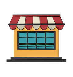 shop or store icon image vector image vector image