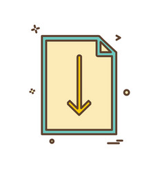 clipboard icon design vector image