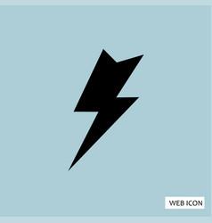 flash icon flash icon eps10 flash icon flash vector image