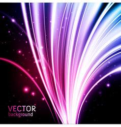 glow background vector image vector image