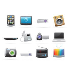 Icons for devices vector image