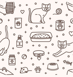 monochrome seamless pattern with tools and vector image