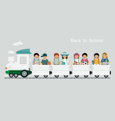 railway children vector image