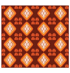 Seamless Mexican Fabric Design vector image