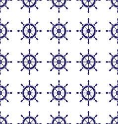 Steering Wheel seamless pattern vector image