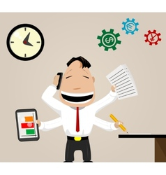 Business activity image vector image