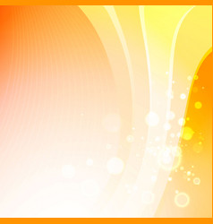 colorful smooth light lines vector image vector image