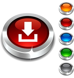 Download 3d button vector image vector image