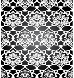 Seamless in Mosaic Ethnic Style vector image vector image