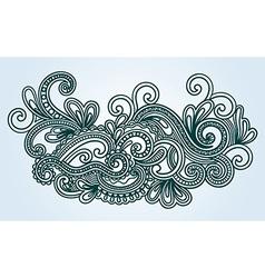 Wives Doodle Design Element vector image