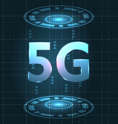 5g new wireless internet wi-fi connection global vector