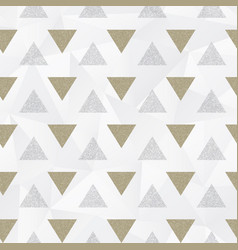 abstract triangle pattern with grunge effect vector image